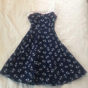 ❤️ Pinup Couture Nautical Dress ❤️